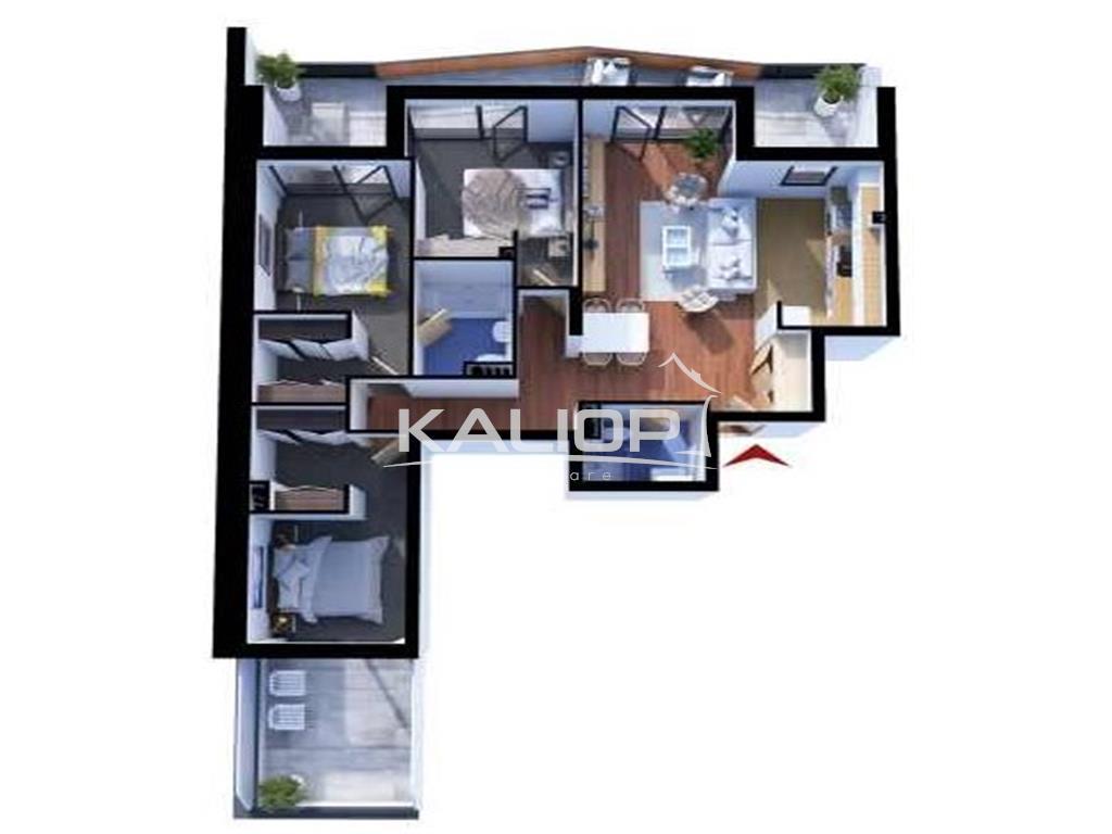 Apartamente cu 4 camere constructie noua in Gheorgheni