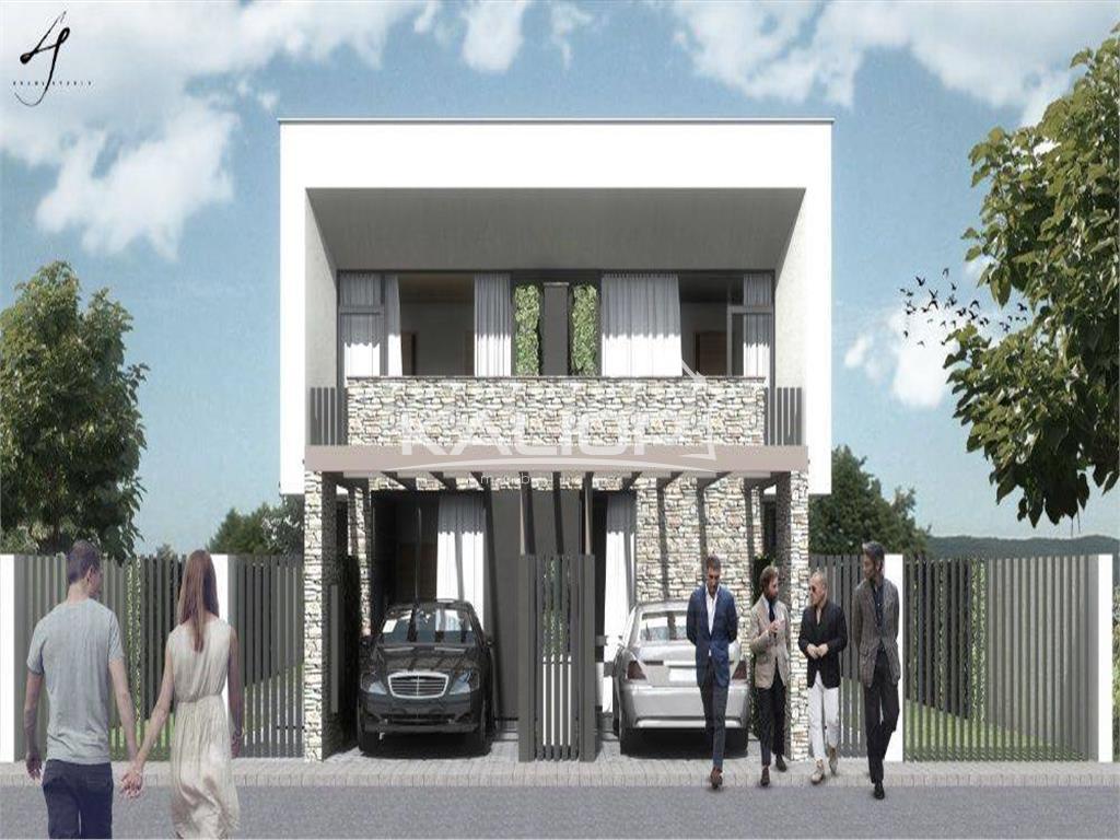 Casa tip duplex cu un design modern in Manastur, zona Campului