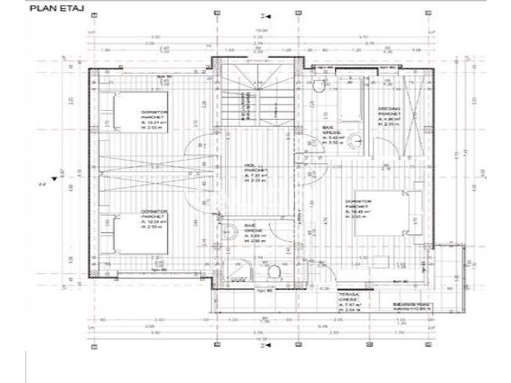 Casa individuala cu CF 120mp cu teren 500mp in Dezmir