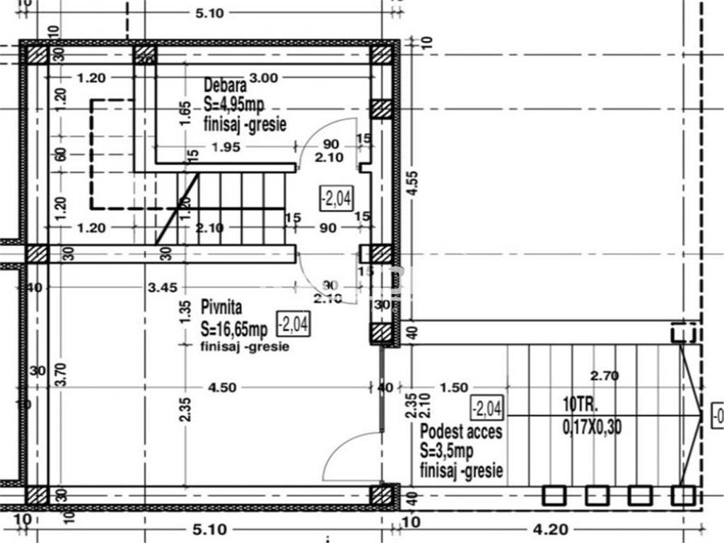 Casa Individuala 176mp+terasa 58 mp teren 450 mp in Dezmir