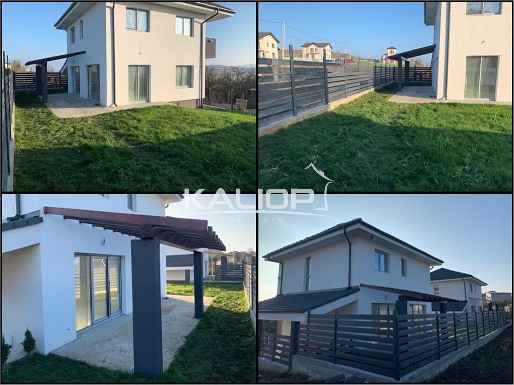 Casa individuala 140mp D+P+E  cu 350mp teren in Dezmir
