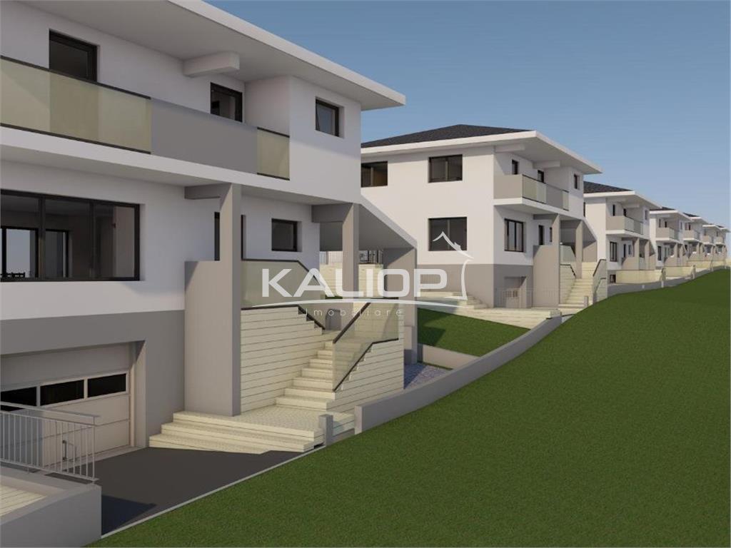Casa individuala 170mp D+P+E  cu 350mp teren in Dezmir