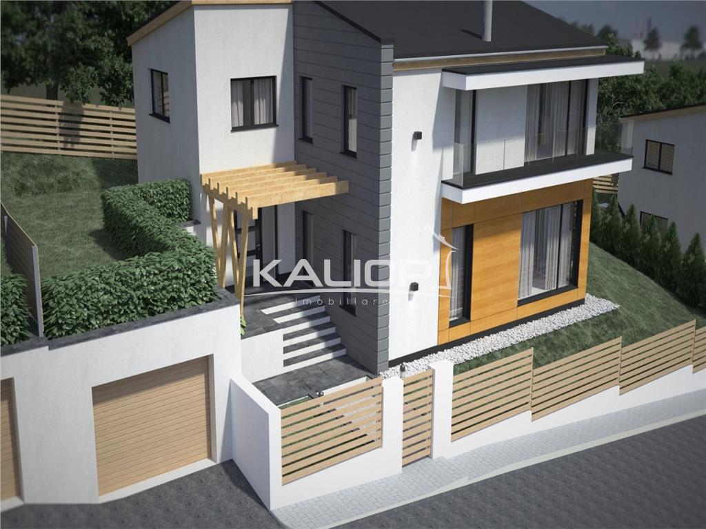 Casa individuala 155mp cu teren 450mp in Dezmir