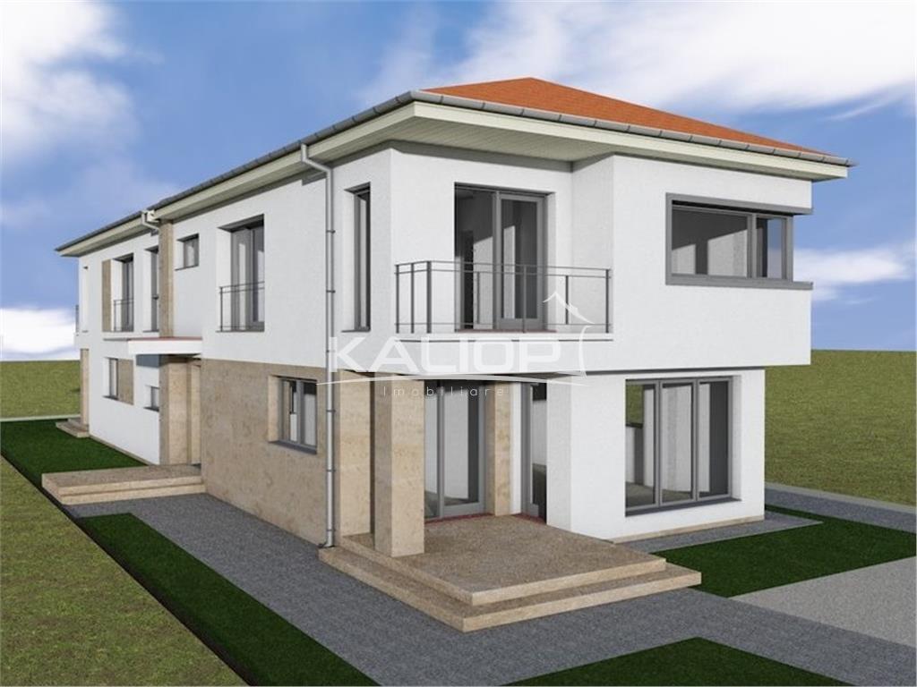 Casa/Duplex cu suprafata de 130mp cu teren de 250mp in Sanicoara