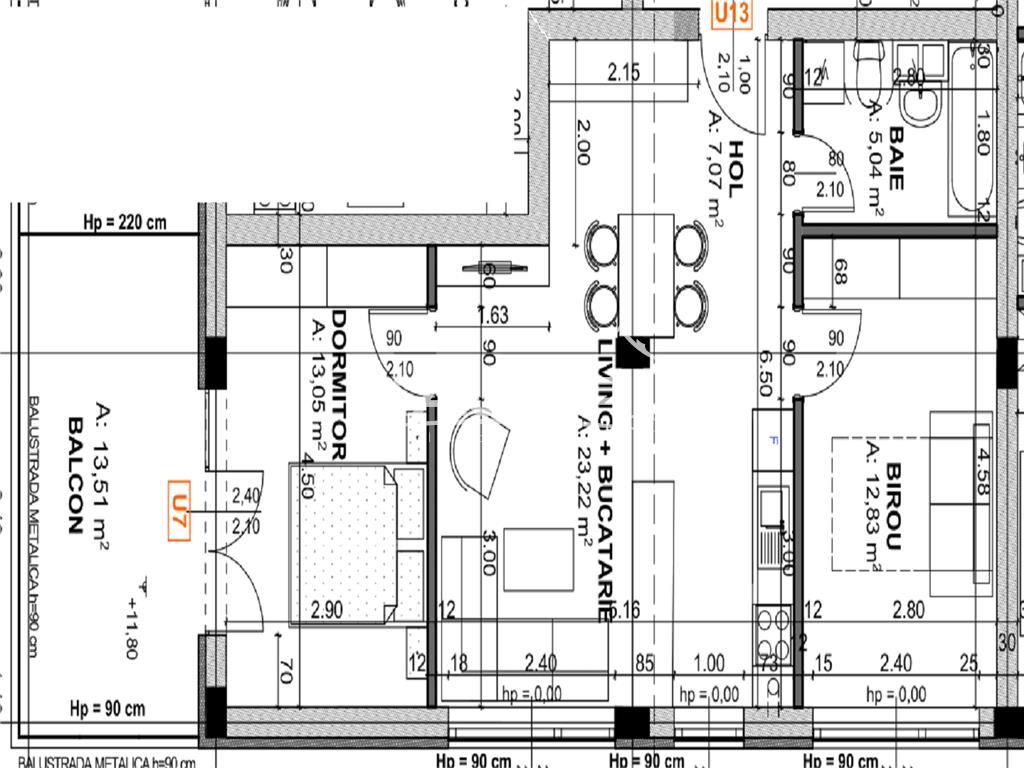 Apartament cu 3 camere cartier Iris Zona Oasului