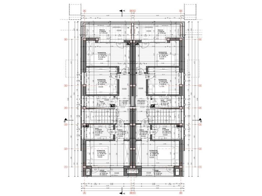 Casa tip duplex 120mp + 45mp garaj in zona Voronet