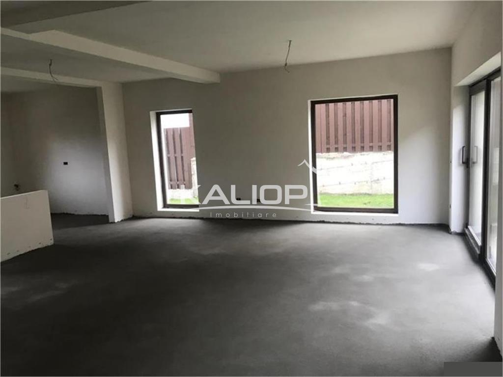 Casa individuala cu CF cuplata prin garaj 155mp in zona Campului
