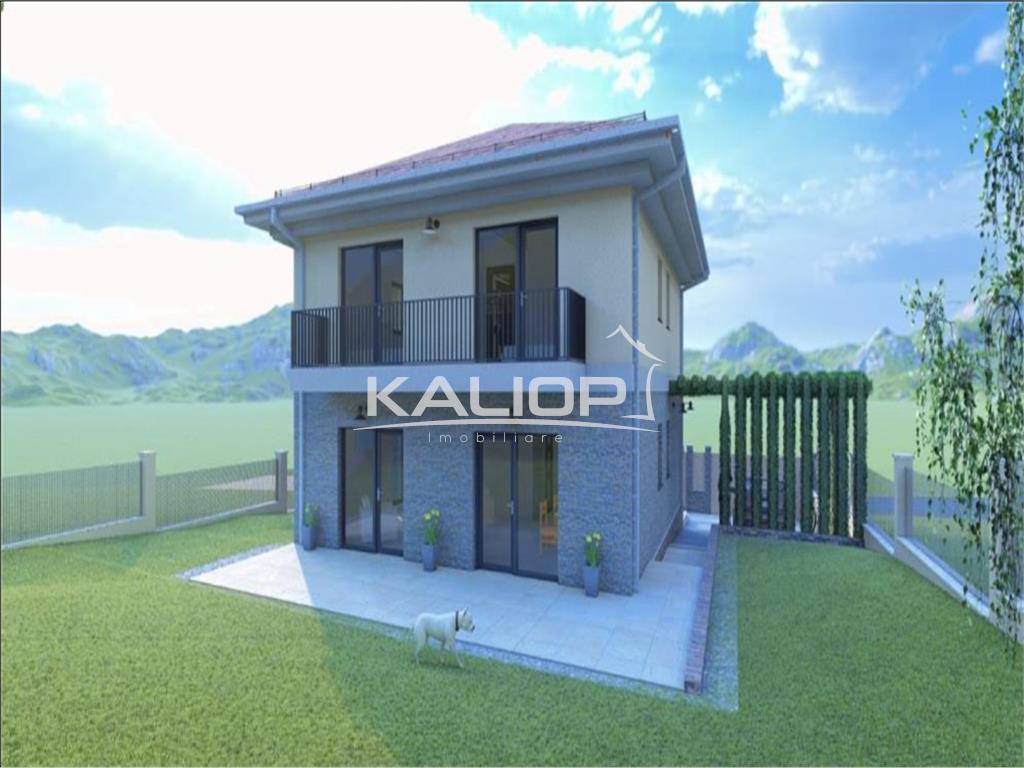 Casa individuala 120mp utli cu 480mp teren in Chinteni