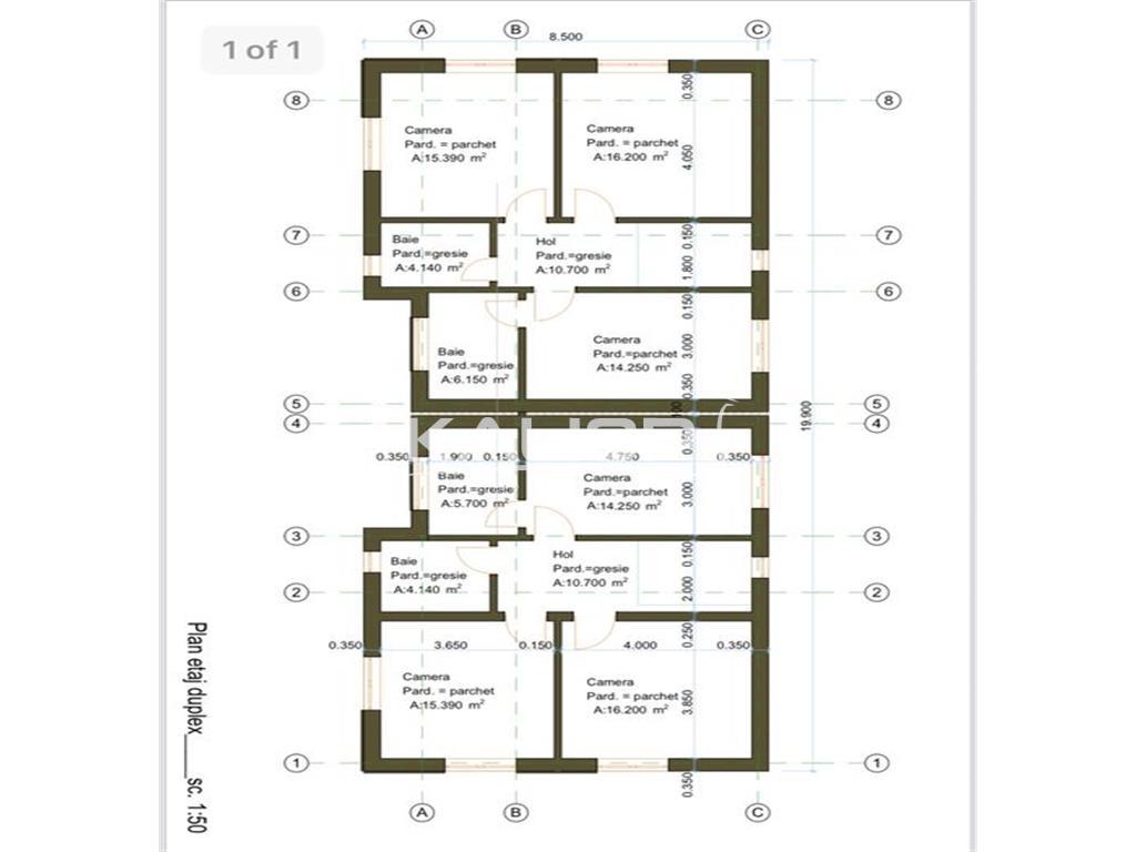 Vanzare duplex 4 camere sat Tauti