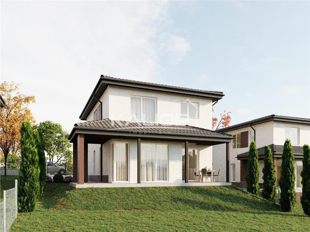 Casa individuala | 5 camere | 135 mp utili | 570 mp teren, Popesti