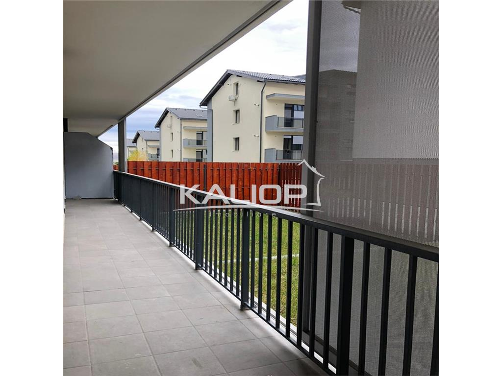 Apartament 3 camere mobilat cu gradina  in  Buna ziua